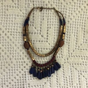 Jewelry - Beautiful tribal bead (festival) necklace ✧